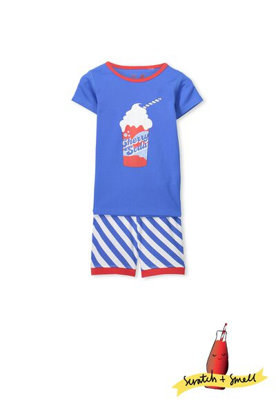Joshua Ss Boys Pj Set, SCRATCH AND SMELL CHERRY SODA