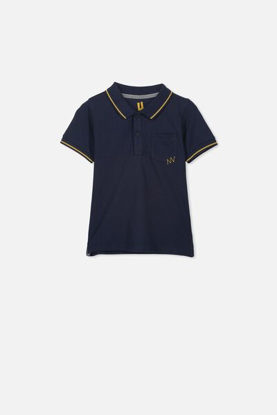 Kendricks Polo, INDIAN INK/TIPPING
