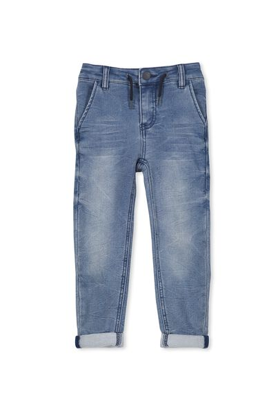 Jake Loop Back Jean, MELROSE DISTRESSED BLUE