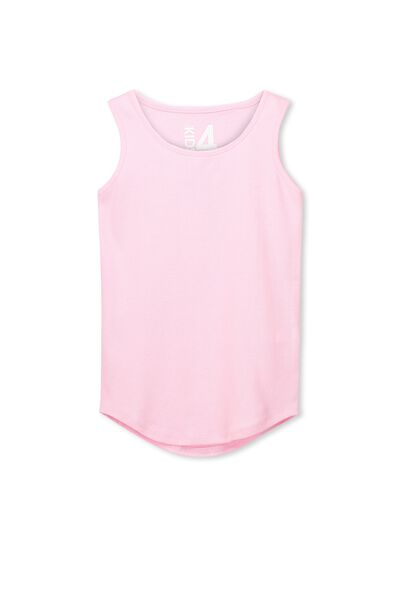 Brooke Singlet, UNICORN PINK