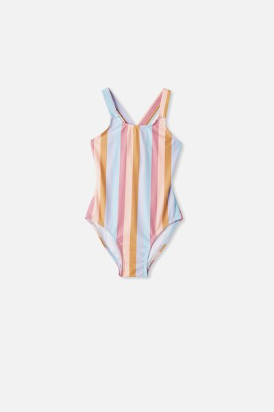 Maia One Piece, SUNSET STRIPE
