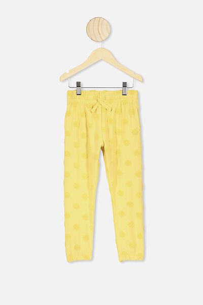 Keira Cuff Pant, SUNSHINE MARLE/TEXTURED DAISIES
