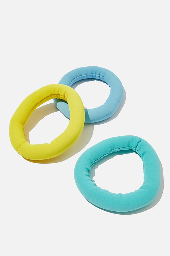 Diving Rings, GREEN AND GOLD