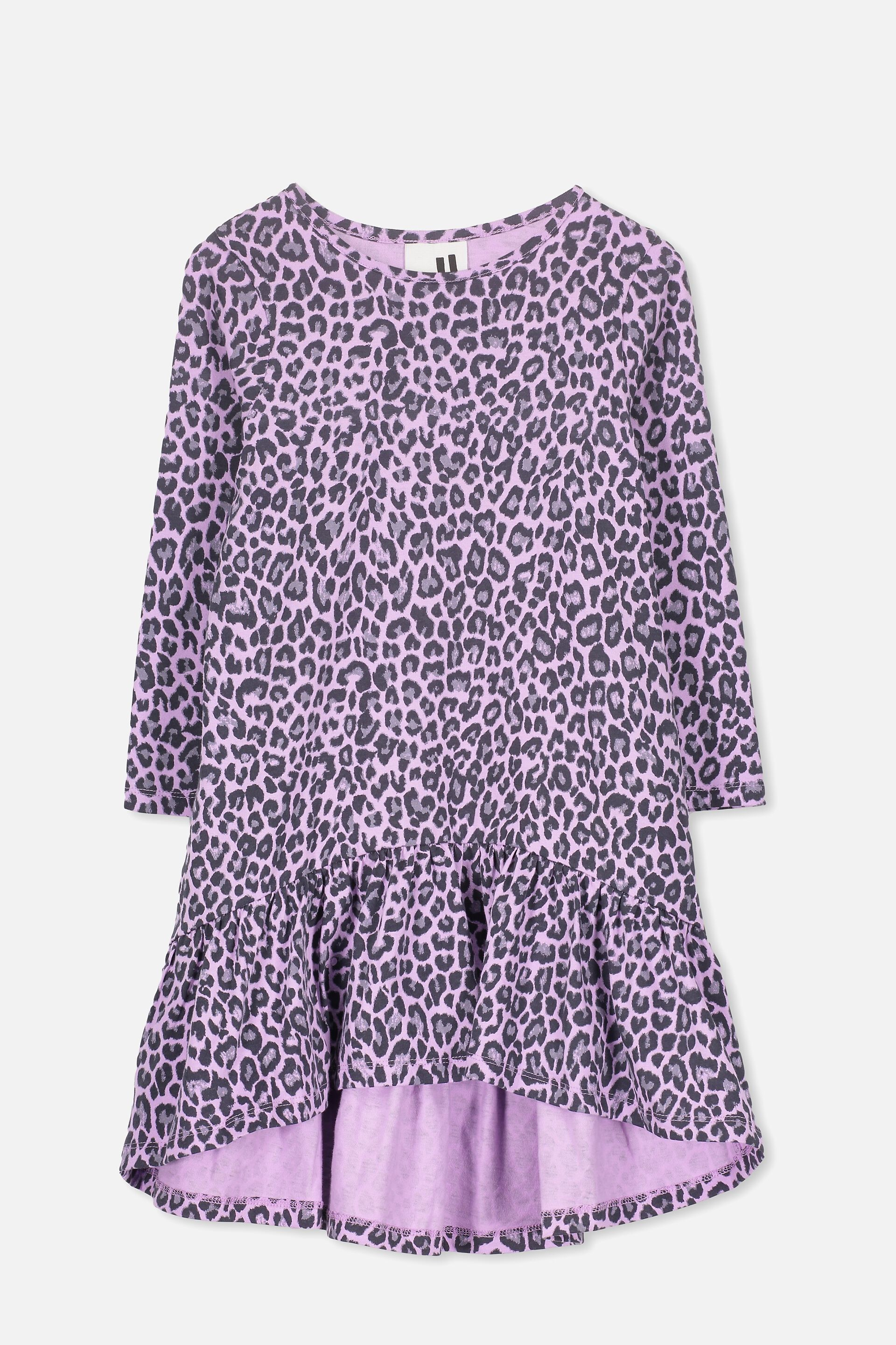 Mother & Kids 2018 Casual Princess Kids Baby Girls Unicorn Cotton Dress Long Sleeves O-neck Floral Party Dresses Straight Fall Clothes 6m-7y