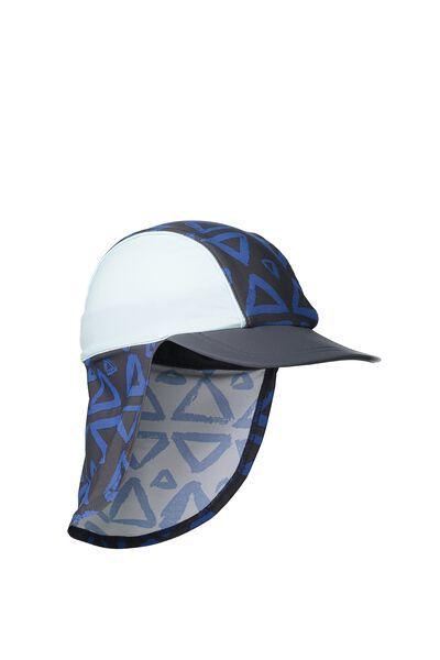 Swim Hat, TRIANGLE COLOUR BLOCK