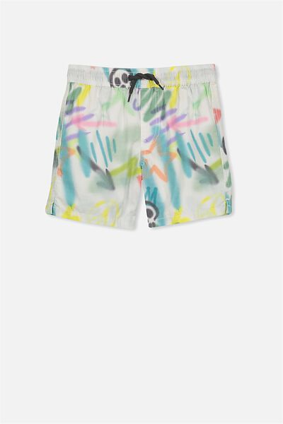 Murphy Swim Short, VANILLA GRAFFITI