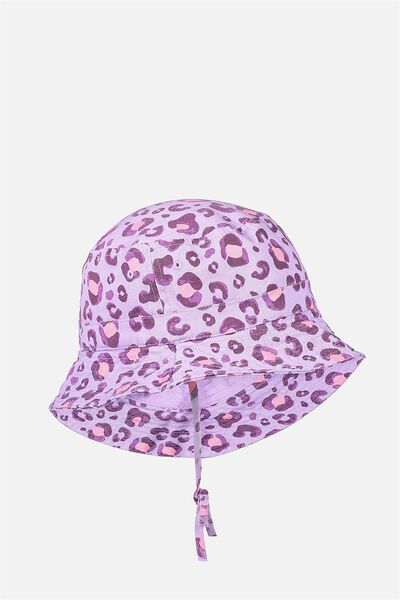 Kids Bucket Hat, PAINTED LEOPARD