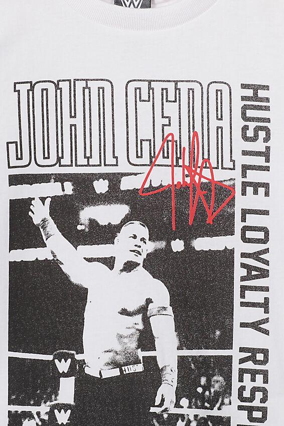 Co-Lab Short Sleeve Tee, LCN WWE JOHN CENA WHITE