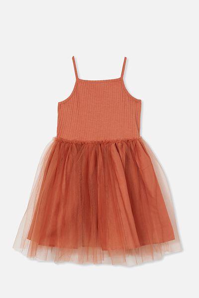 Ines Dress Up Dress, CHUTNEY