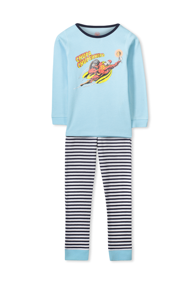 Dan Long Sleeve Boys PJs, CHUPA CHUP HERO