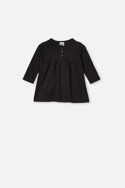 Karmen Dress, BLACK WASH
