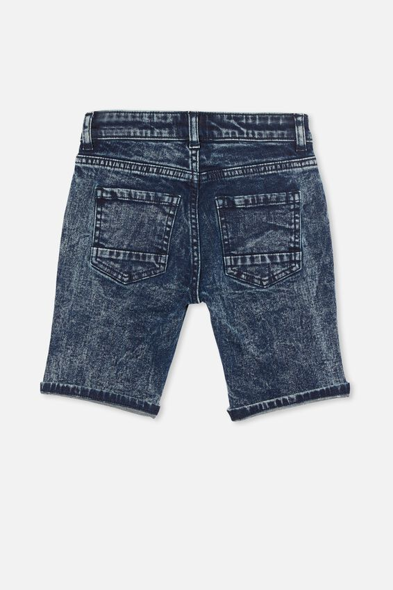 Bermuda Denim Short, DARK DENIM
