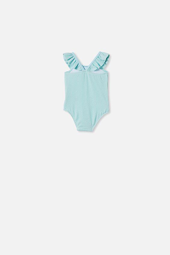 Lolita Frill Swimsuit, DREAM BLUE