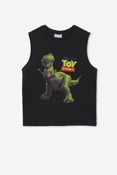 License Muscle Tank, LCN DIS VINTAGE BLACK/TOY STORY