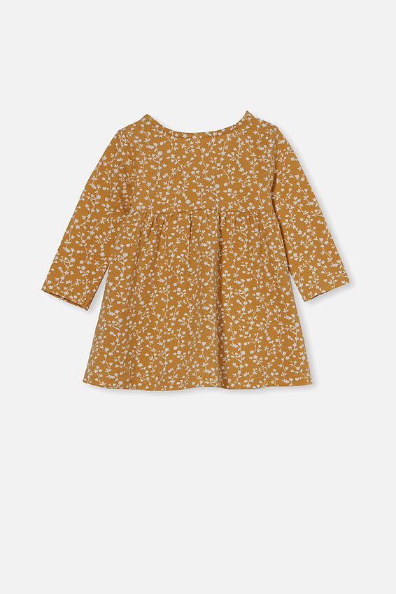 Molly Long Sleeve Dress, VINTAGE HONEY/VANILLA SIERRA FLORAL