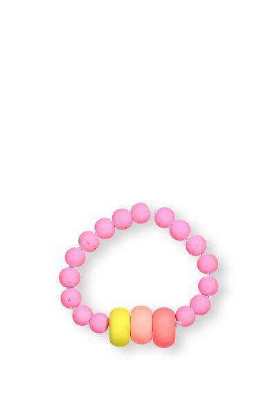 Mixed Beaded Bracelet, BANG BANG RAINBOW
