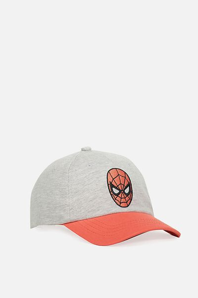 Licensed Baseball Cap, GREY/SPIDERMAN