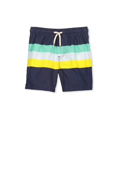 Murphy Swim Short, PEACOAT MULTI STRIPE