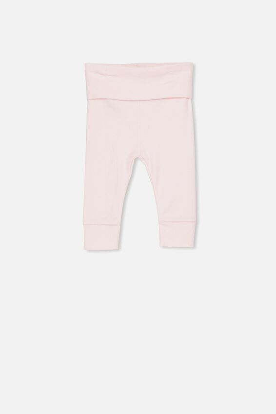 Newborn Essentials Legging, BABY PINK