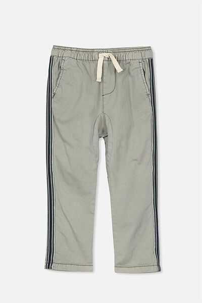 Iggy Pant, WASHED MOSS/STRIPE TAPE