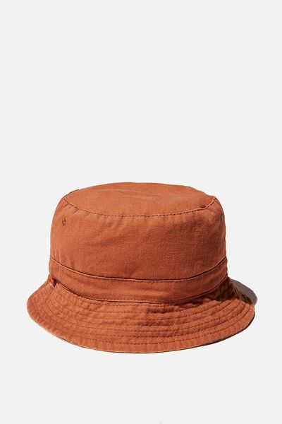 Reversible Bucket Hat, CHUTNEY STRIPE
