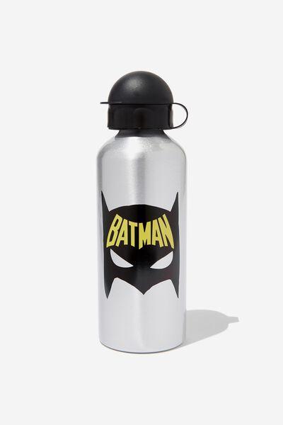 Aluminium Drink Bottle, LCN WB BATMAN MASK
