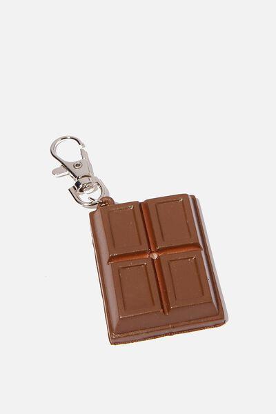 Kids Squishy Bag Charms, CHOCOLATE BLOCK