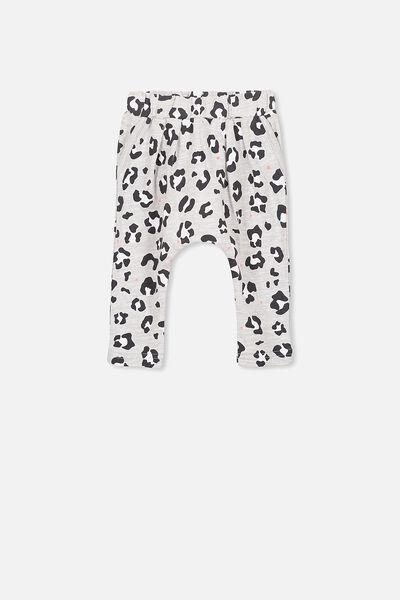 Alison Mini Pant, CLOUD MARLE/ANIMAL PRINT