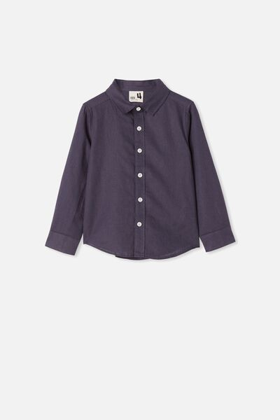 Harper Long Sleeve Shirt, VINTAGE NAVY