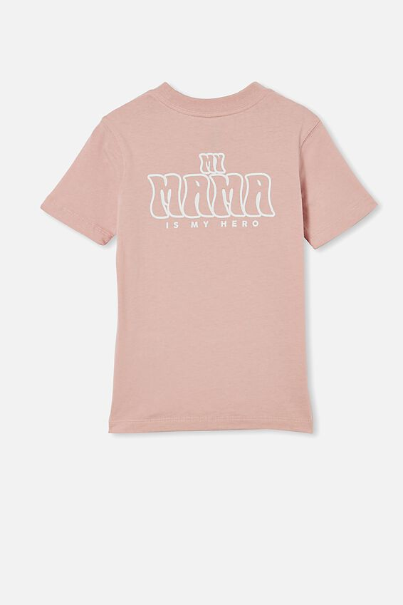Max Skater Short Sleeve Tee, ZEPHYR / MAMA IS MY HERO