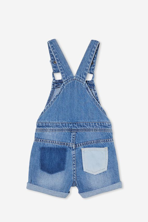Ginnie Slouch Shortall, WEEKEND WASH/PATCHES