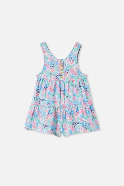 Kip & Co Bella Playsuit, LCNKIP PETAL POWER