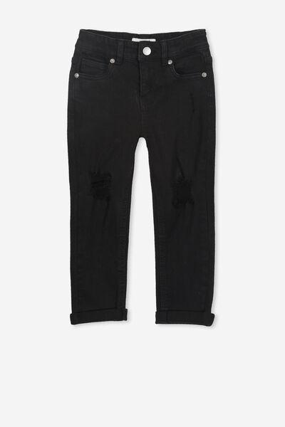 Indie Slouch Jean, BLACK