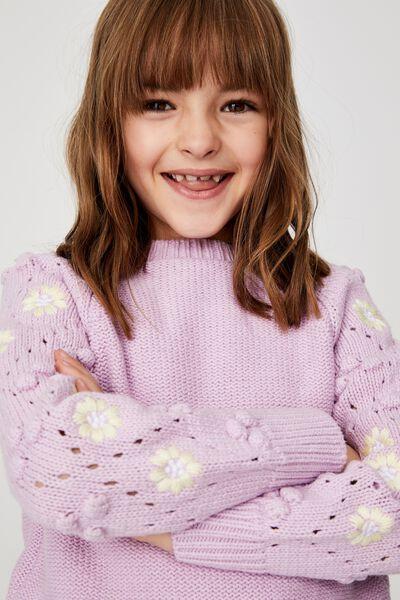 Cecelia Knit Jumper, PALE VIOLET