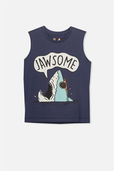 Orson Tank, NAVY JAWSOME/MUSCLE