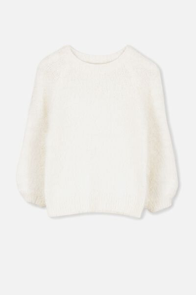 Daisy Fluffy Jumper, CREAM