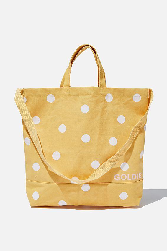Personalised Tote Bag, MUSTARD SPOT