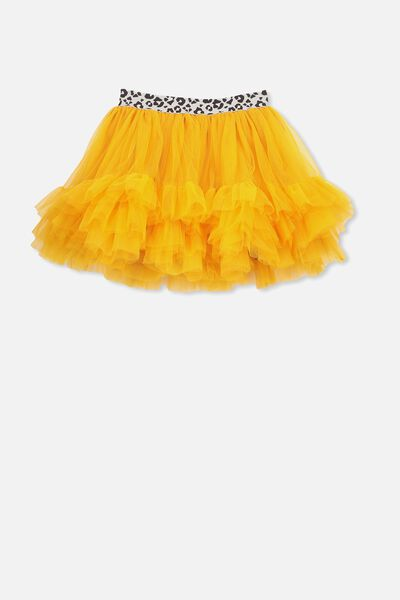 Trixiebelle Tulle Skirt, GOLDEN GLOW/RUFFLES