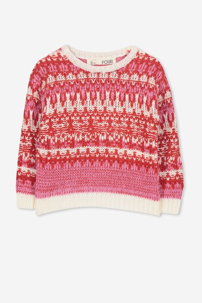 Mary Knit Jumper, MULTI