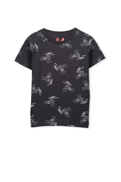 Max Short Sleeve Tee, PHANTOM/SKELETON SKATER