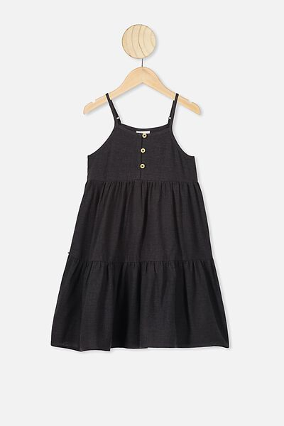 Mackenzie Sleeveless Dress, PHANTOM