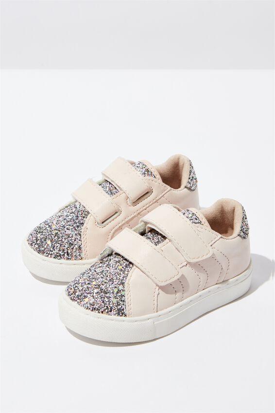 Mini Gracie Sneaker, NUDE
