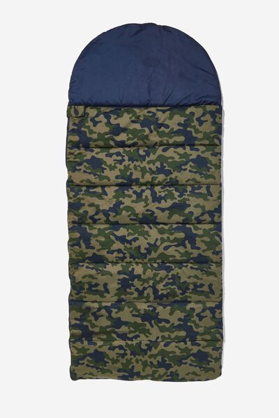 Slumber Party Sleeping Bag, DARK CAMO