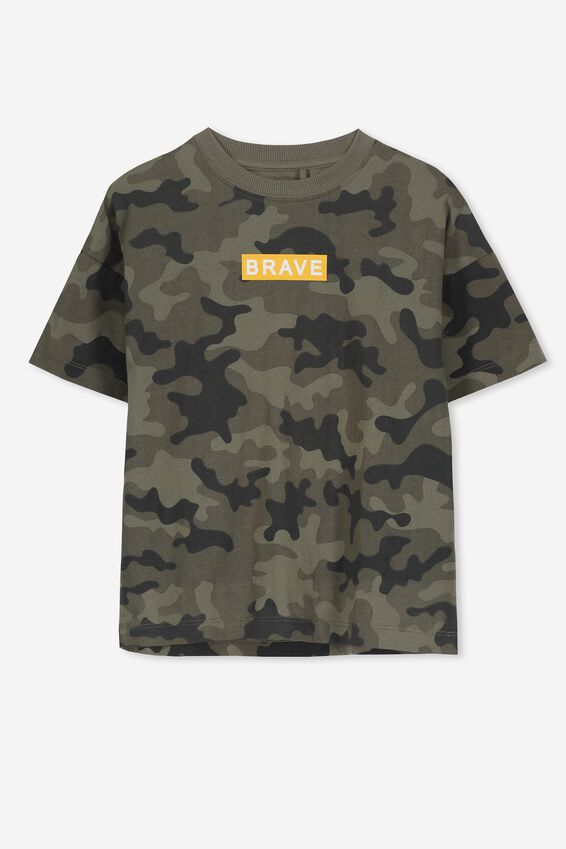 Max Loose Fit Tee, CAMO YARDAGE BRAVE