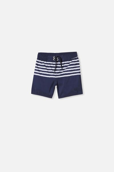 Bailey Boardshort, CLASSIC STRIPE/NAVY