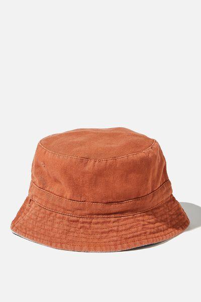 Reversible Bucket Hat, CHUTNEY TIE DYE