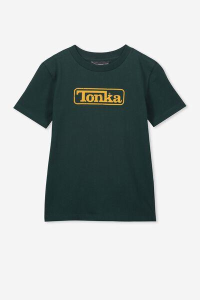 Co-Lab Short Sleeve Tee, LCN HAS SCOUT GREEN/TONKA