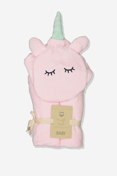 Baby Snuggle Towel, SLEEP UNICORN