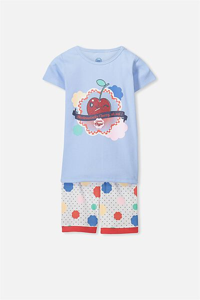 Chloe Short Sleeve Girls Pj Set, CHUPA CHUP LOLLIES