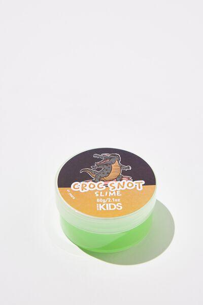 Kids Slime, CROC SNOT/BRIGHT GREEN